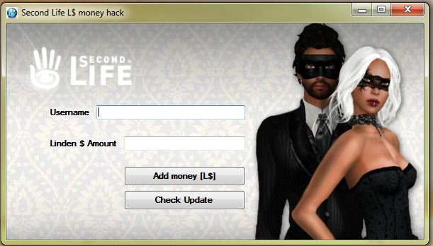 second life linden hack