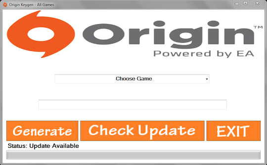 Origin EA All Games Key Generator Free Download