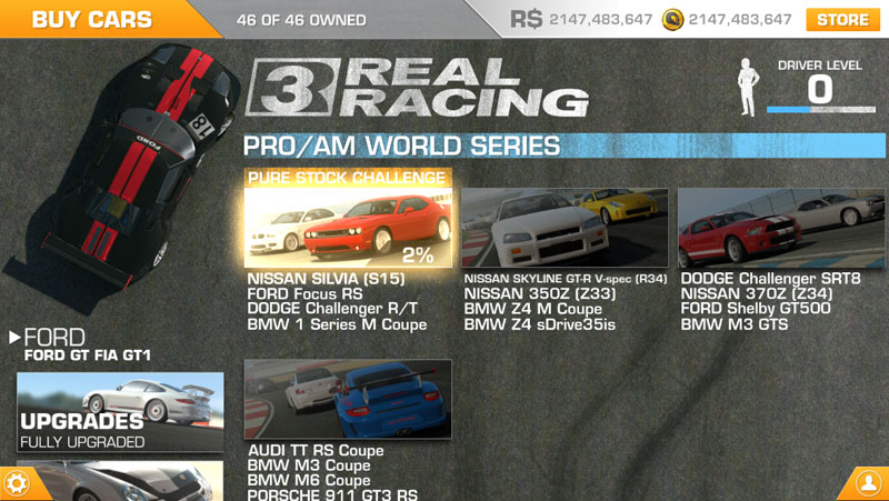 real racing 3 cheats