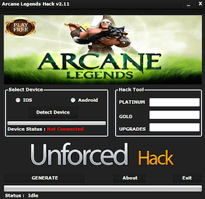 Arcane-Legends-Hack